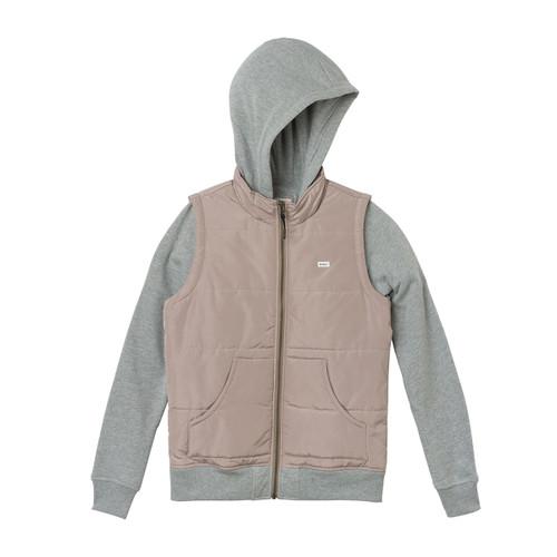 Eternal Fleece Quilted Jacket - Pavement