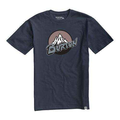 Retro Mountain Tee - Mood Indigo