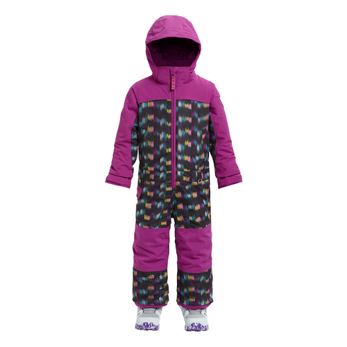Girls' Minishred Illusion One Piece - Eyecat/Grapeseed