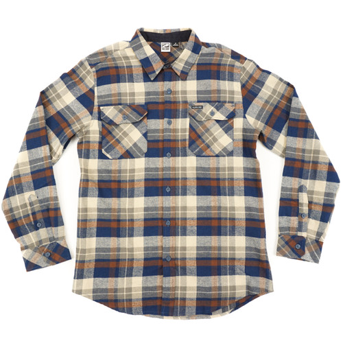 Val Surf Flannel - Brown