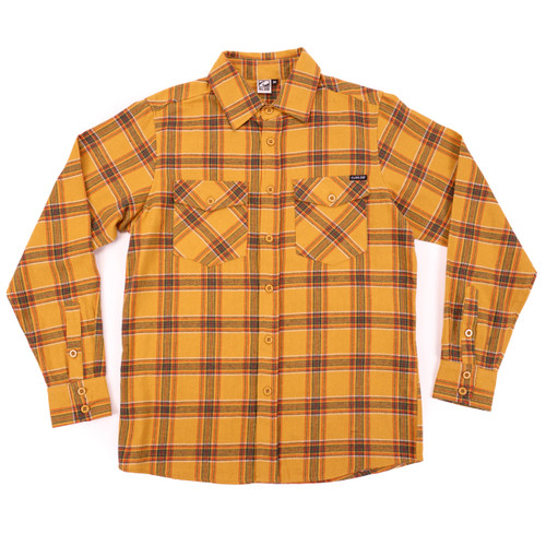 Cooper Flannel - Mustard