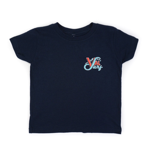Toddler OG Logo Full Color Tee - Navy