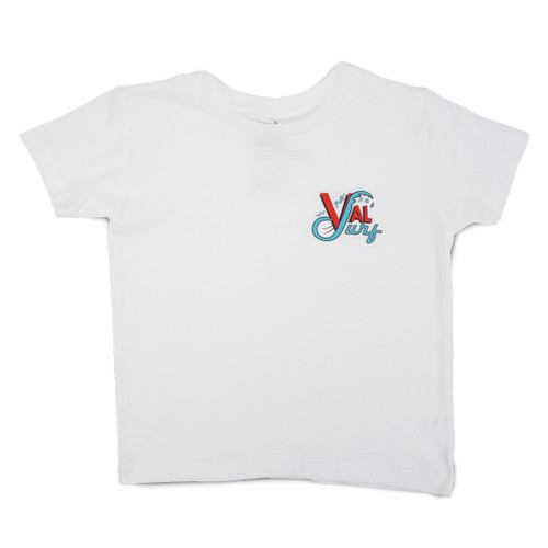 Toddler OG Logo Full Color Tee - White