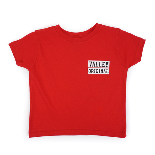 Toddler Valley Original Tee - Red