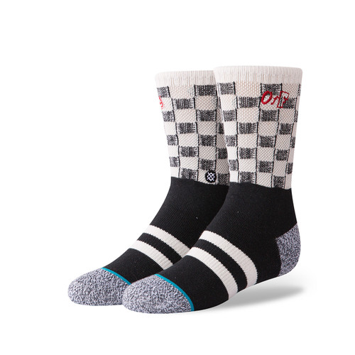 Check Me Out Boys Sock - Black