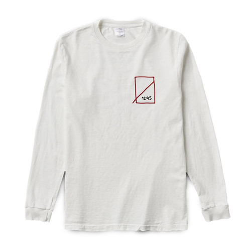 Loaded Dice L/S Tee - White
