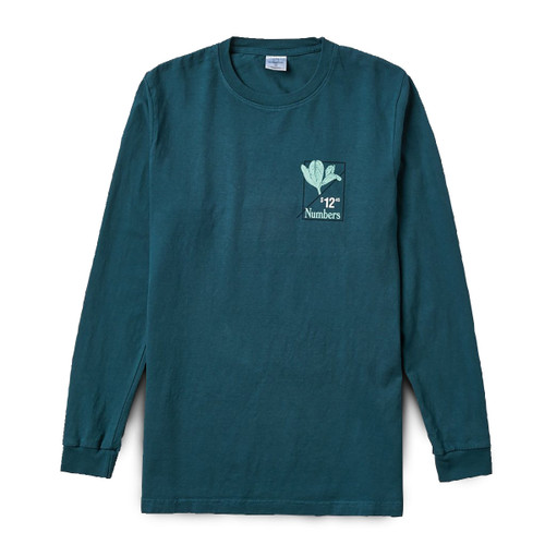 Flower of Love L/S Tee - Deep Teal