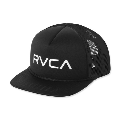 Boys RVCA Foamy Trucker - Black