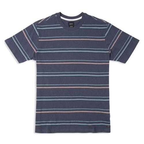 Avila Striped Knit - Federal Blue