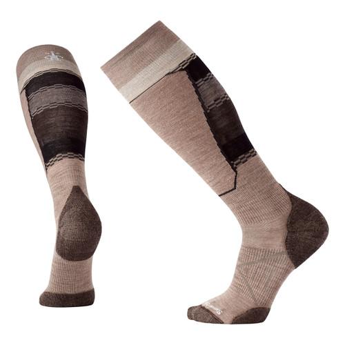 PhD Ski Light Elite Pattern Socks - Fossil