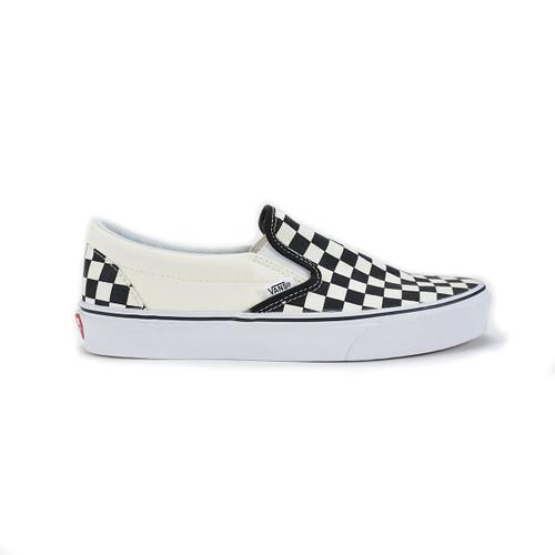 Classic Slip-On - Black/White/Checkerboard
