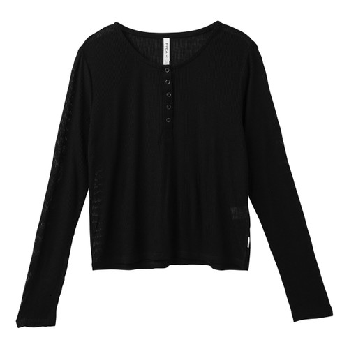 Mean Streak LS Knit - Black