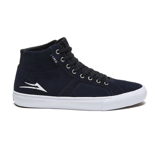 Flaco High - Navy/White Suede