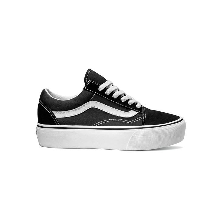 Old Skool Platform - Black/White