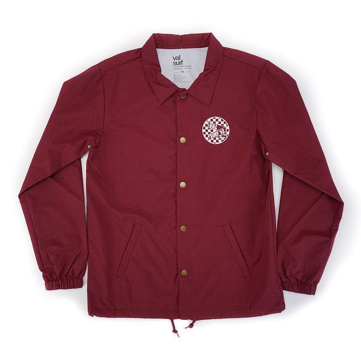MOD Coaches Jacket - Cardinal
