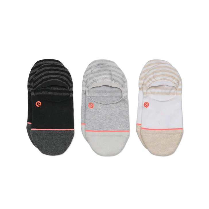 Women's Invisible 3 Pack Sock