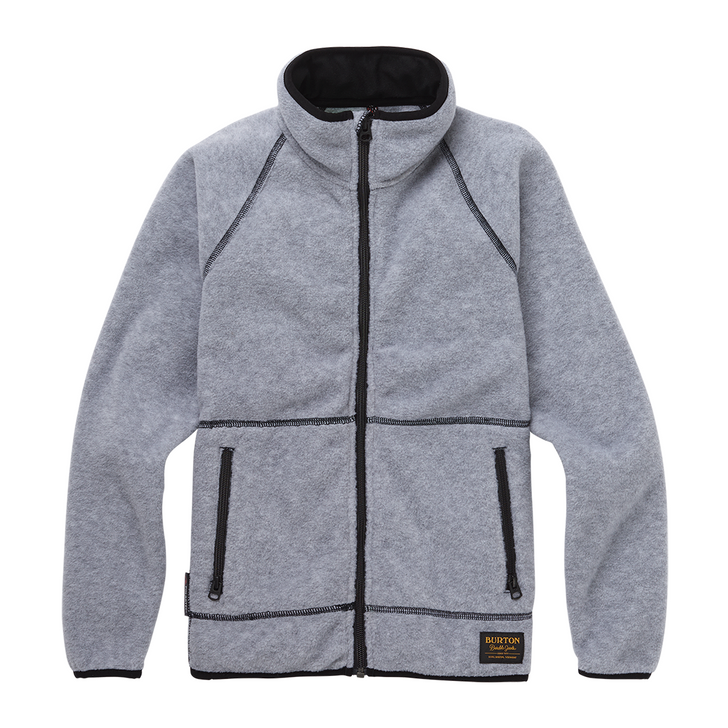 Youth Spark Full-Zip Fleece Collar