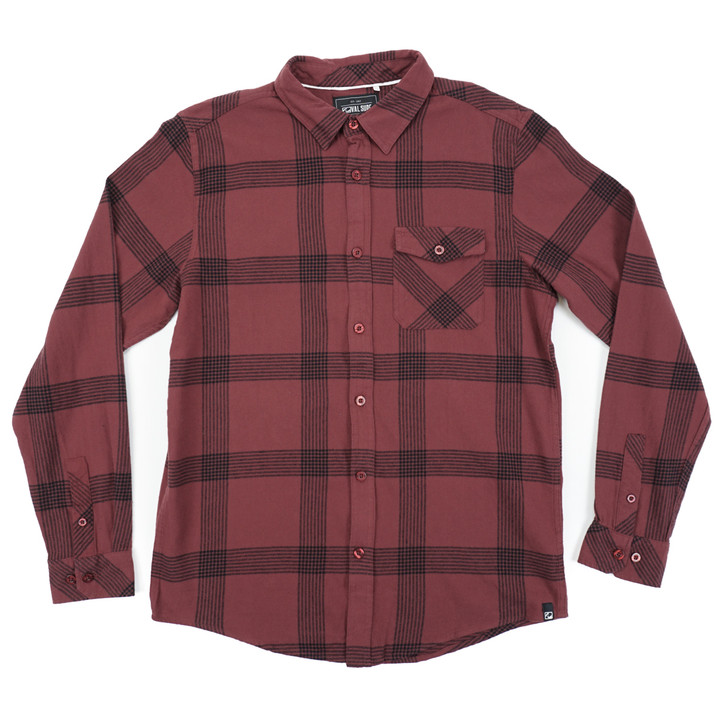 Basecamp Flannel - Red