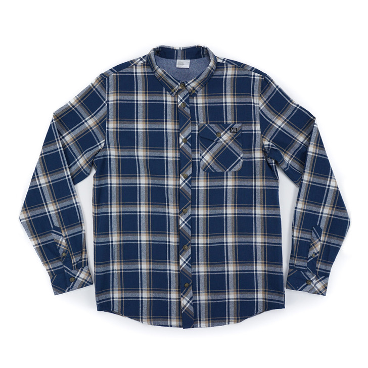 Axis Flannel - Blue