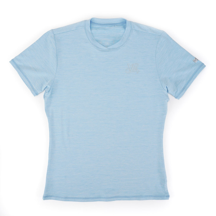 Malibu S/S - Heather Blue