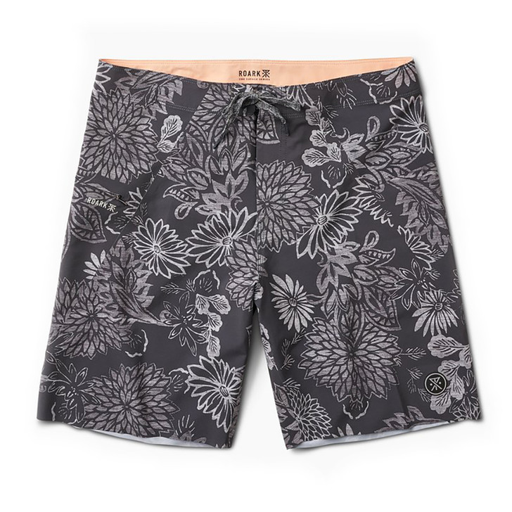 Savage Fuzed Gardens Boardshort - Black
