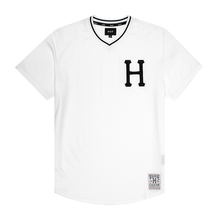 Chavez Baseball Jersey - White - Val Surf