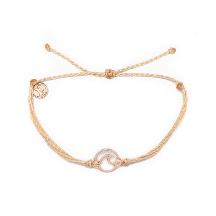 Rose Gold Wave Bracelet