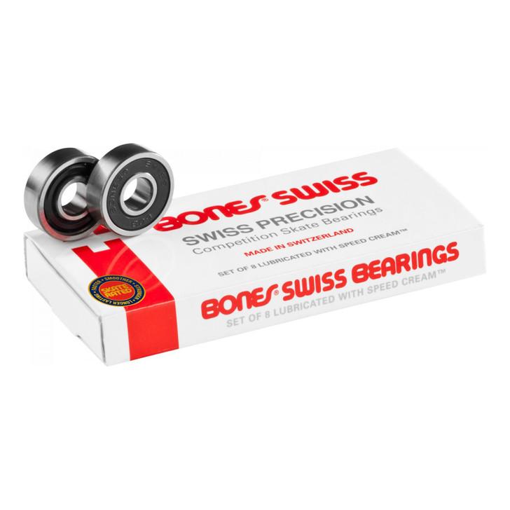 Package of Swiss Bones brand bearings.