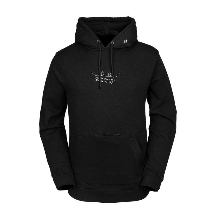 JLA P/Over Fleece - Black