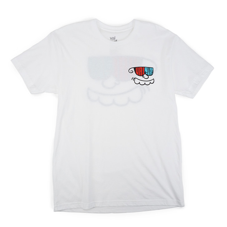 Happy Glaboe Tee - White