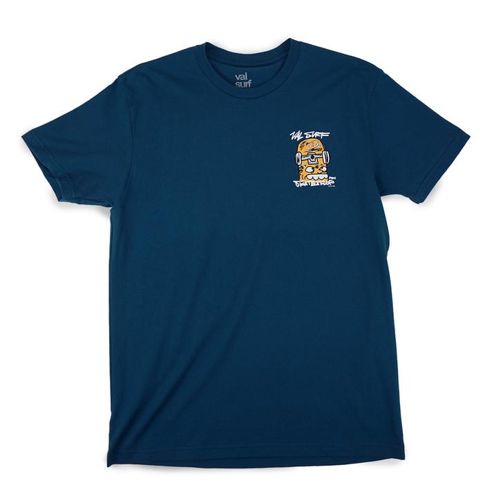 Skate Glaboe Tee - Cool Blue