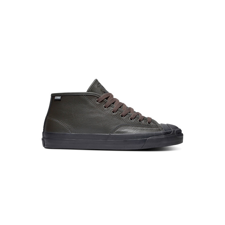 Jack Purcell Pro Leather Mid - Stone/Charcoal