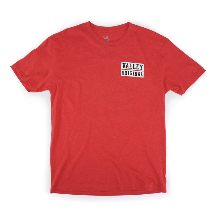 Valley Original Tee - Red