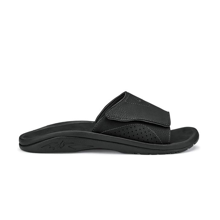 Nalu Slide - Black/Black
