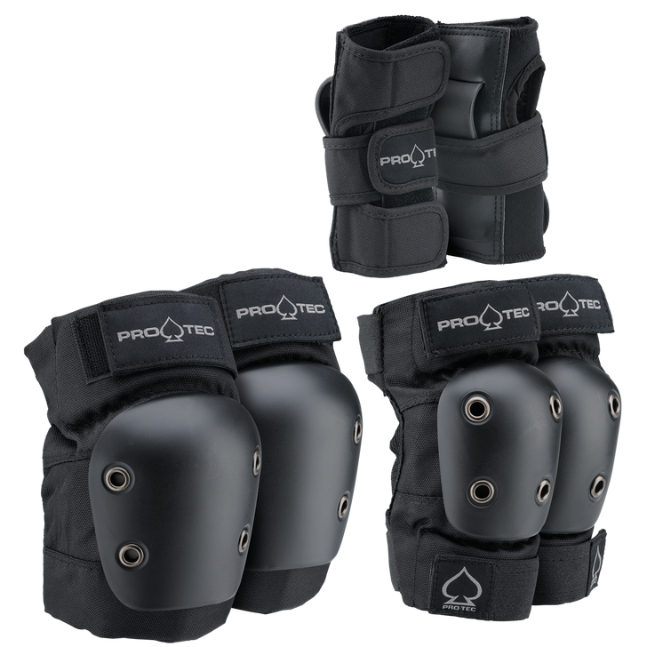 Street Gear 3-Pack Youth - Small - Black