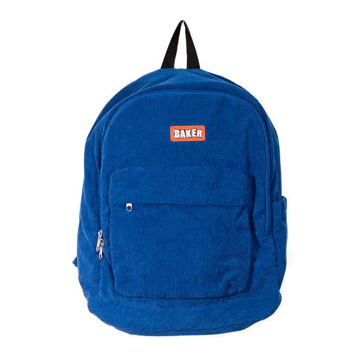 Brand Logo Backpack - Royal Cord