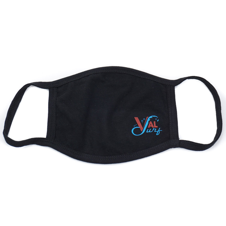 Val Surf Face Mask - Black