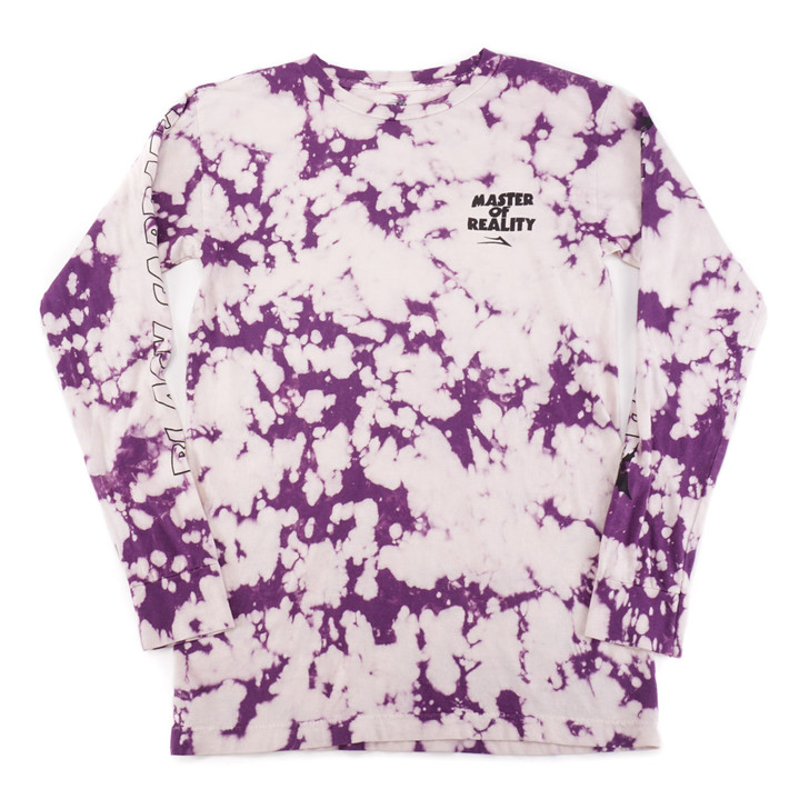 Master Of Reality L/S Tee - White Crystal Wash