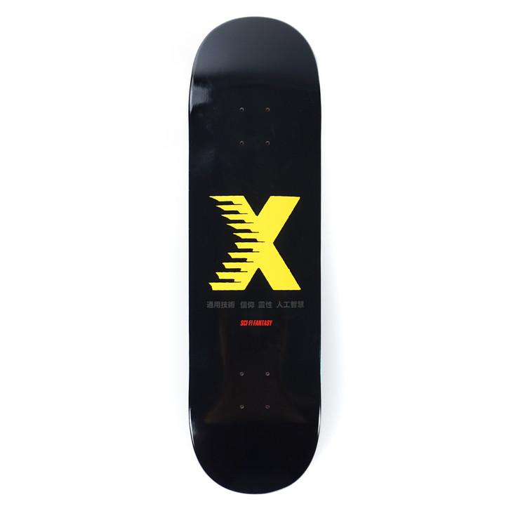 "X Logo - 8.5"""