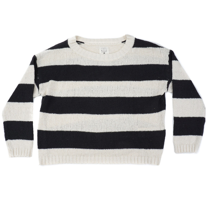 Womens Lost Paradise Sweater - Off Black