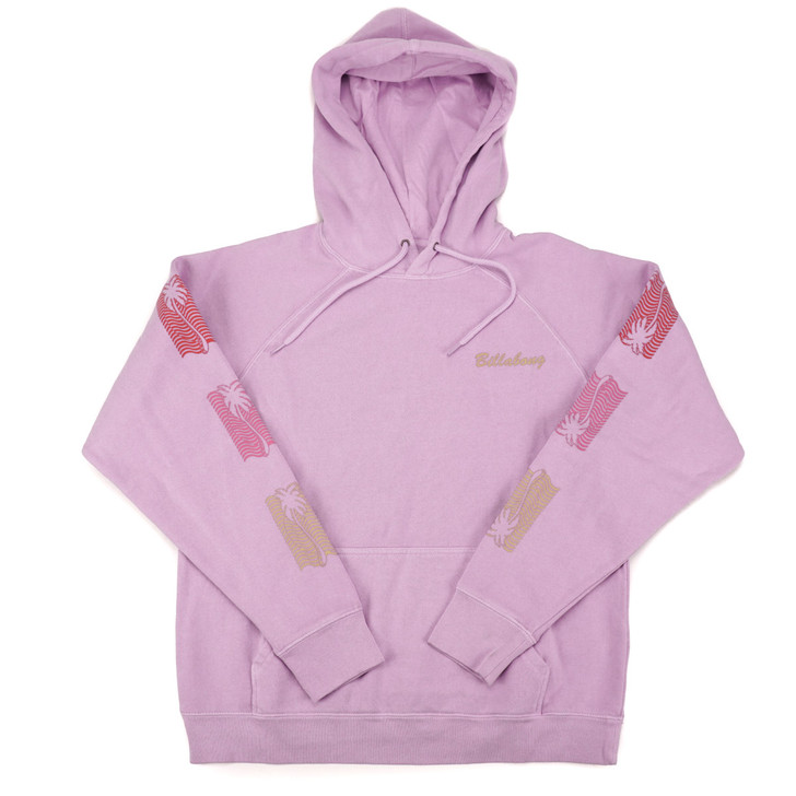 Womens Catchin Waves Pullover - Lilac