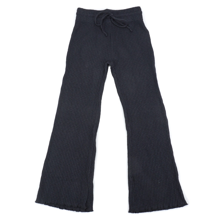 Womens Come Through Pant - Off Black