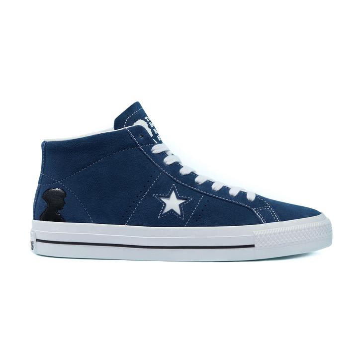 One Star Pro Mid - Navy/White/Black Slate Blue