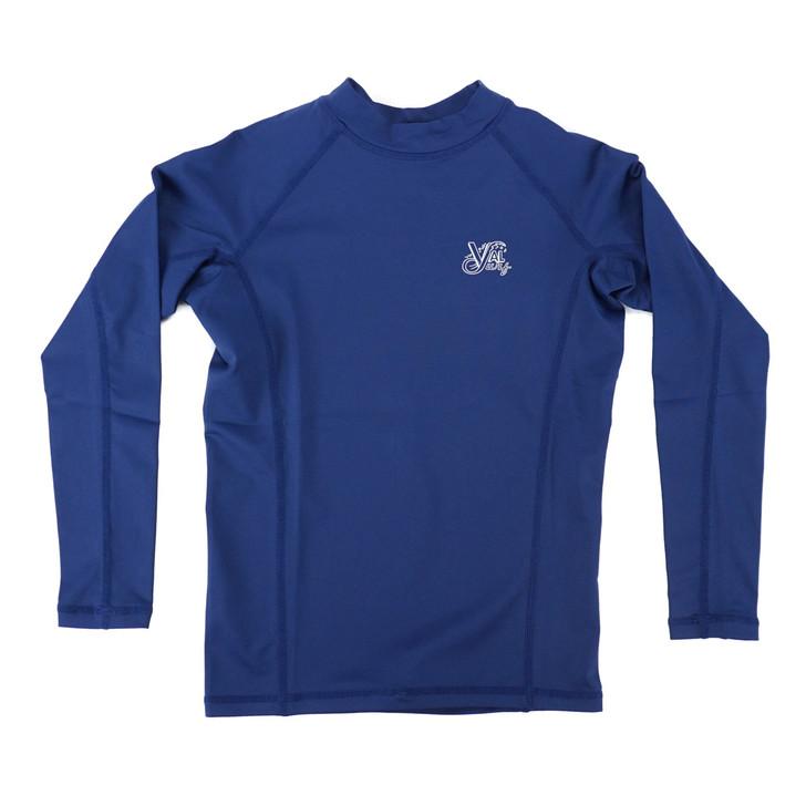 OG Logo Boys Fuse L/S Sun Shirt - Navy