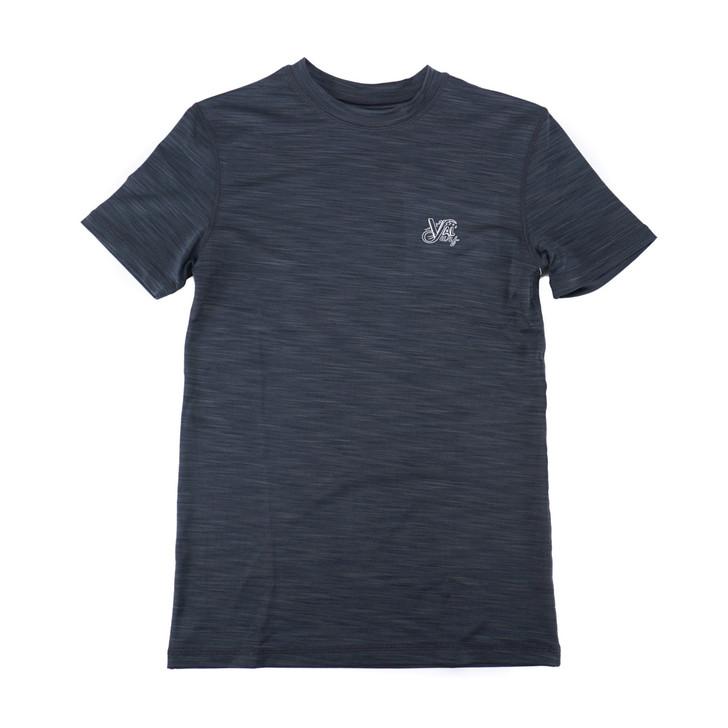 OG Logo Boys Hybrid S/S Sun Shirt - Charcoal
