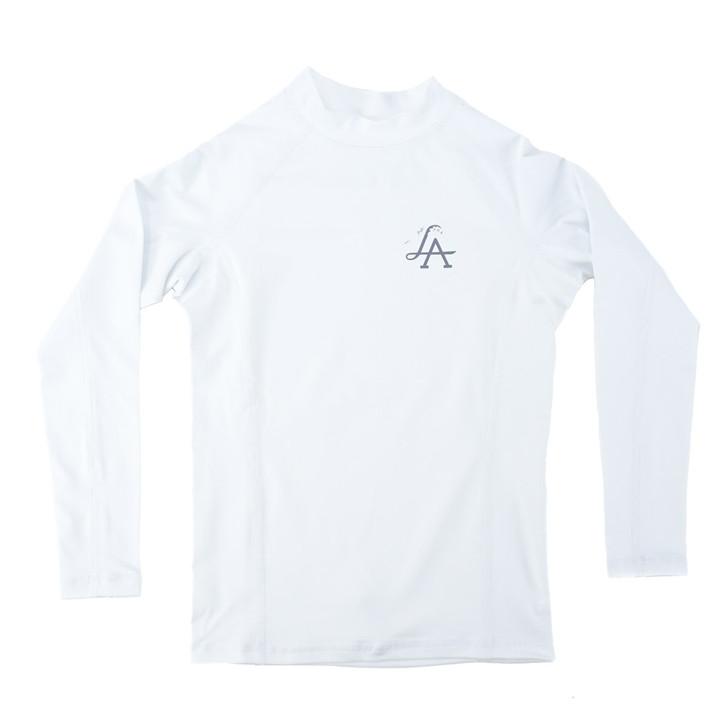 LA Wave Boys Fuse L/S Sun Shirt - White