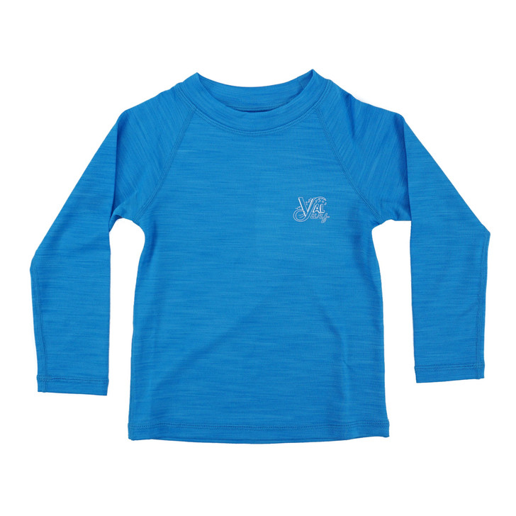 OG Logo Toddlers Hybrid Pro L/S Sun Shirt - Royal