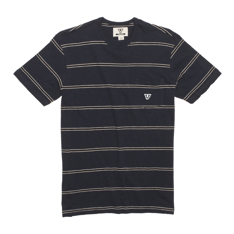Unknown Territory Knit Tee - Dark Naval