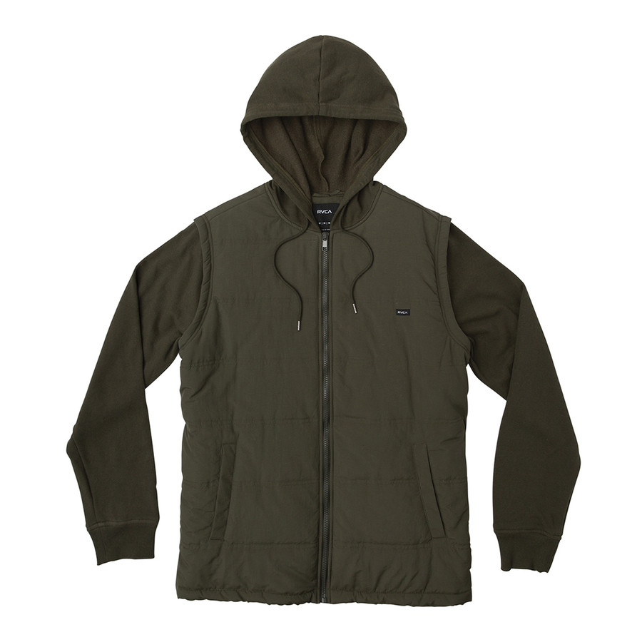 Logan Puffer Jacket - Dark Military