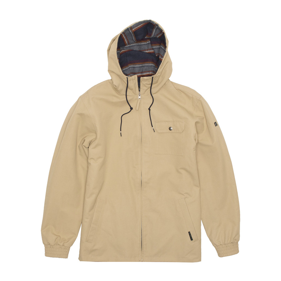 Breakers Hooded Jacket - Khaki
